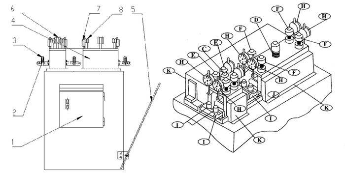 整平机结构图-专业生产商晋志德机械